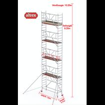Gevelvrij* 0.75 x 1.85 x 8.20m vh Safe-Quick RS Tower  41-S