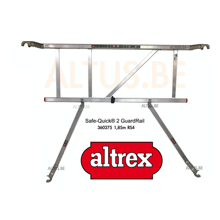Altrex Gevelvrij* 0.75 x 2.45 x 7.20m vh Safe-Quick RS Tower  41-S