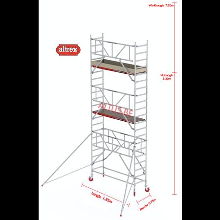 Altrex Gevelvrij* 0.75 x 1.85 x 5.20m vh Safe-Quick RS Tower  41-S