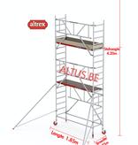 Altrex Gevelvrij* 0.75 x 1.85 x 4.20m vh Safe-Quick RS Tower  41-S