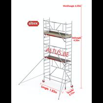 Gevelvrij* 0.75 x 1.85 x 4.20m vh Safe-Quick RS Tower  41-S