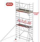 Altrex Gevelvrij* 0.75 x 2.45 x 4.20m vh Safe-Quick RS Tower  41-S