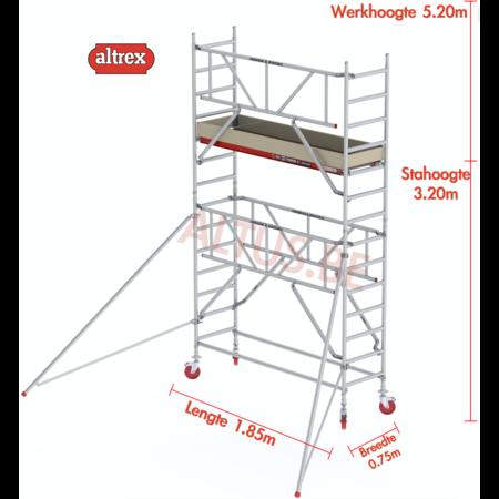 Altrex Gevelvrij* 0.75 x 1.85 x 3.20m vh Safe-Quick RS Tower  41-S