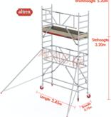 Altrex Gevelvrij* 0.75 x 2.45 x 3.20m vh Safe-Quick RS Tower  41-S