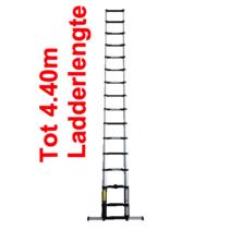 x-tenso 15 treden telescopische ladder