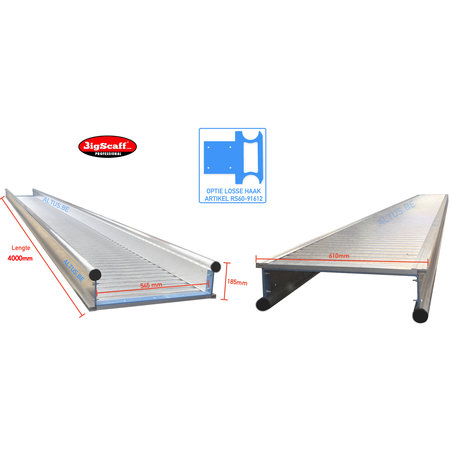 bigscaff 4.00m werkbrug model recto-verso