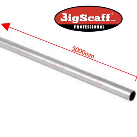 bigscaff Leuningbuis  5.00m lang diameter 50.8mm