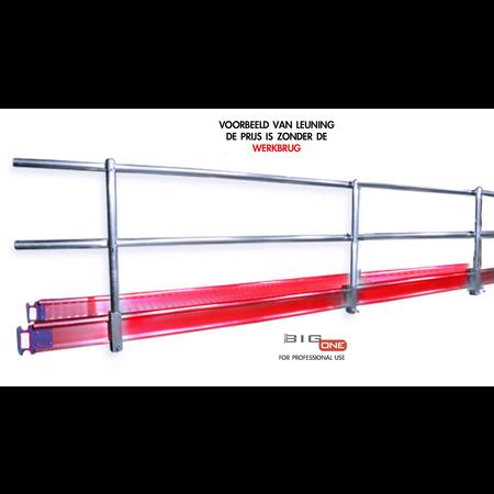 bigscaff Complete leuning voor werkbrug 6.00m