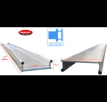 6.00m werkbrug model recto-verso