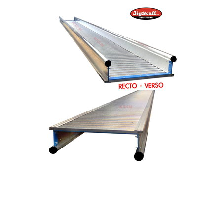 bigscaff 5.00m werkbrug model recto-verso