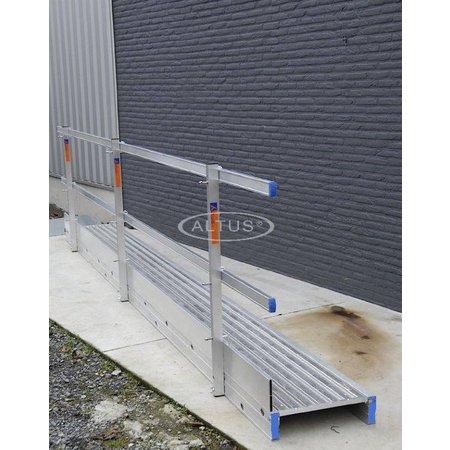 Solide Solide compleet leuning & haken model WB 6.20m