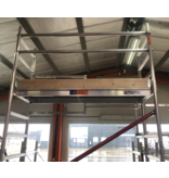 bigscaff 1.35 x 1.85/1.90 m houten kantplankset type RS60