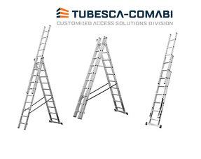 Tubesca 3-delige ladder