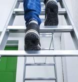 bigone Dubbele trapladder 2x9-treden- stahoogte 2.25m