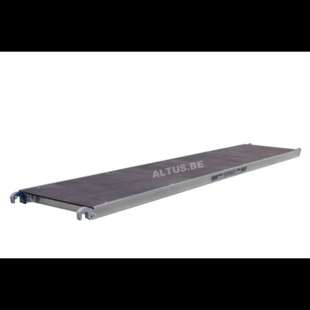 ASC ASC platform 305 zonder luik  hout deck
