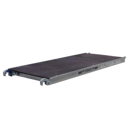 ASC ASC platform 190 zonder luik hout deck