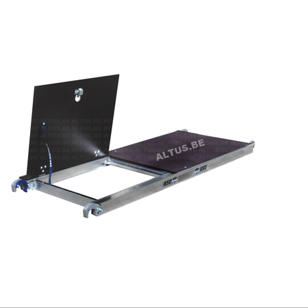 ASC ASC platform 190 met luik- hout deck
