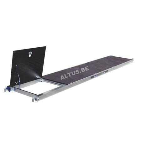 ASC ASC platform 305 met luik- hout deck