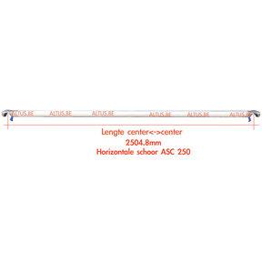 ASC 250 Horizontaal schoor