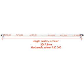 ASC 305 Horizontaal schoor