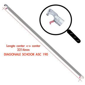 ASC 190 Diagonaal schoor