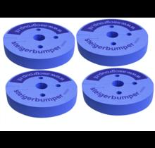 ASC regelbare steigerwiel Ø 200 mm alu spindel  800 kg draagvermogen - Copy