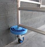 ASC ASC regelbare steigerwiel Ø 200 mm alu spindel  800 kg draagvermogen - Copy