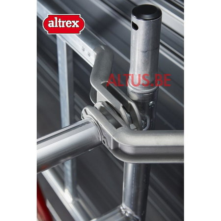 altrex RS Tower 51-S met Safe-Quick 0.90(B) x 3.05(L) x 8.20m (VH) = 10.20m (WH)