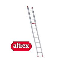 2.90m enkele ladder 10 treden recht model ATLAS