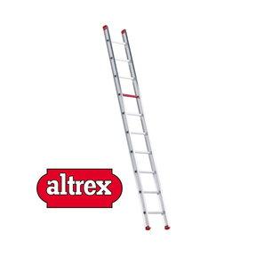 enkele ladder 10 treden 2.90 m recht model ATLAS