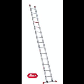 enkele ladder 14 treden 4.00 m recht model ATLAS