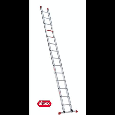 Altrex 4.50m enkele ladder 16 treden recht model ATLAS