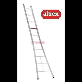 enkele ladder 10 treden 3.10 m  brede basis type Ventoux