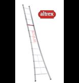 Altrex  enkele ladder 12 treden 3.65 m  brede basis type Ventoux