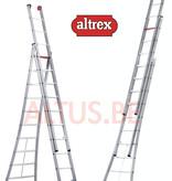 Altrex  3.00 - 7.00m 3-delige reformladder 3 x 10 treden Ventoux