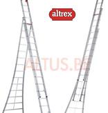 Altrex 4.18-8.94m 3-delige reformladder 3 x 14 treden Ventoux
