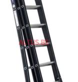 DAS products 2.25 - 5.25m 3-delige Atlas black reformladder 3x8
