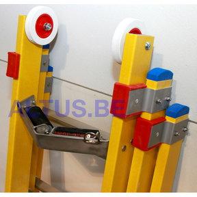 1 VSTEUN ROL voor GVK ladder