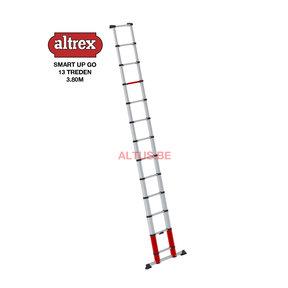 1.08-3.80m Altrex Hobby telescopische ladder Smart up go 13 treden