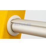 STALTOR 2-delige GVK schuifladder met touw 2x15 alu sporten met stabibalk