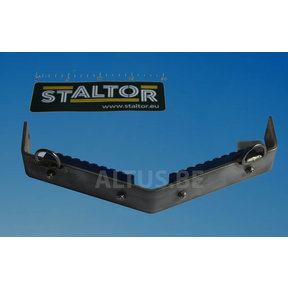 RVS V-steun met 2 kunststof steunen Staltor