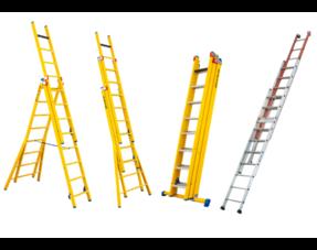 Staltor 3-delige GVK ladders
