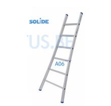 Solide professionele enkele ladder 6 treden 1.75m