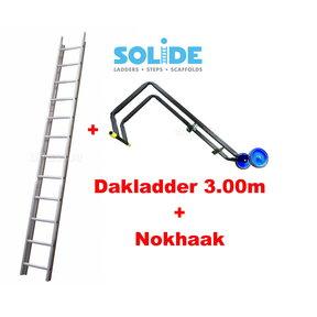 3.00m dakladderset solide easy-fit