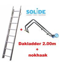 2.00m dakladderset solide easy-fit