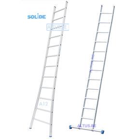 Professionele enkele ladder 12 treden 3.25m