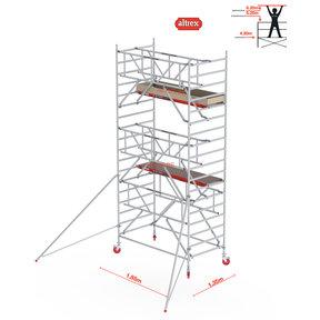 Gevelvrij* 1.35 x 1.85 x 6.20m WH Safe-Quick RS Tower 42-S