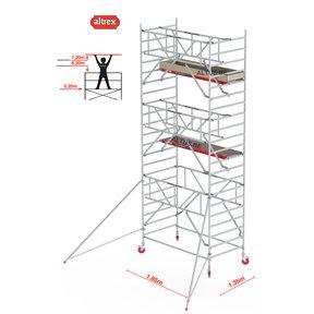 Gevelvrij* 1.35 x 1.85 x 7.20m WH Safe-Quick RS Tower 42-S