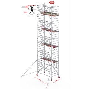 Gevelvrij* 1.35 x 1.85 x 10.20m WH Safe-Quick RS Tower 42-S