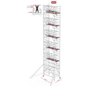 Gevelvrij* 1.35 x 1.85 x 13.20m WH Safe-Quick RS Tower 42-S